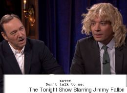 Kevin Spacey And Jimmy Fallon Act Out Hilarious 'House Of Cards' Scenes Written By Children