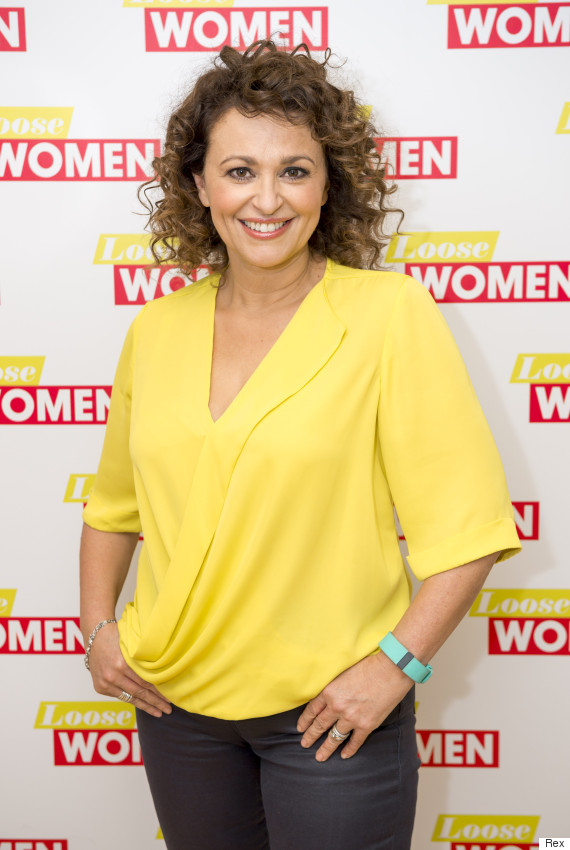 Loose women s nadia sawalha reveals she attends overeaters anonymous