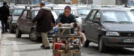 TEHRAN UNEMPLOYMENT STREET