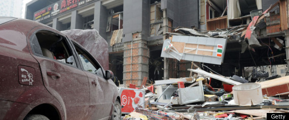 CHINA GAS EXPLOSION 9 DEAD