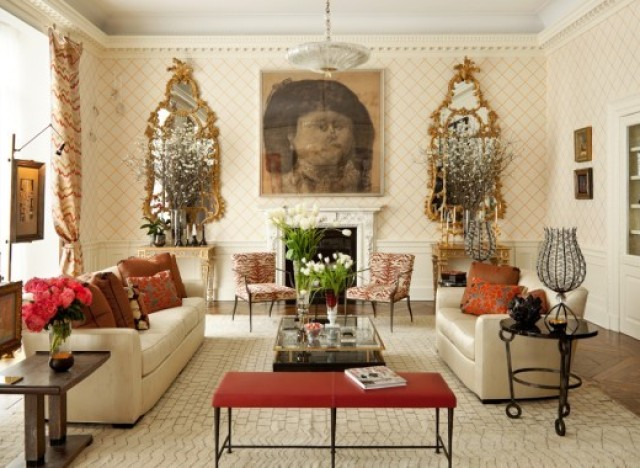 Living Room Furniture Mix And Match 3 ways to mix and match design | huffpost