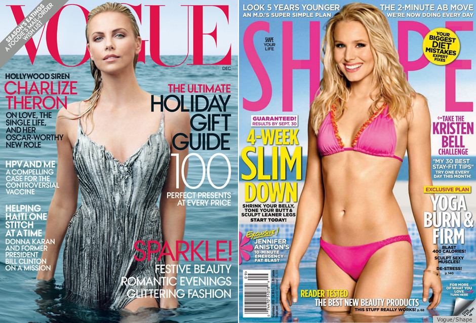 Charlize Theron's Vogue Cover Reminds Us Of Every Shape