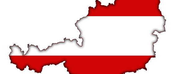 AUSTRIA EU MAP