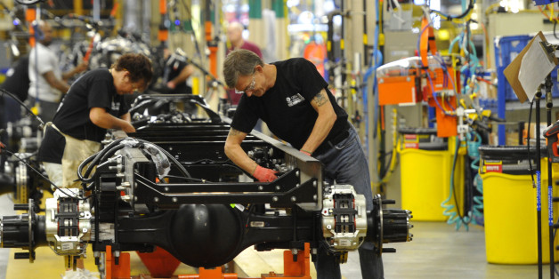 Latino Auto Sales >> 'Middle-class' Manufacturing Jobs Pay Fast-food Wages | HuffPost