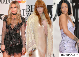 The Most Rock 'N' Roll Outfits At The 2016 Brit Awards