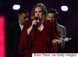 Adele Makes A Bold Statement During Brit Awards Speech