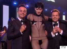 Awks! Ant And Dec Interrupted By Unexpected Guest During Brits Link