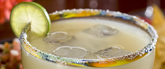 margarita and salt