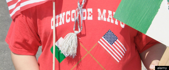 CINCO DE MAYO AMERICAN FLAG TSHIRTS
