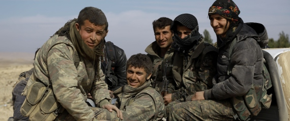 KURDISH FIGHTERS SYRIA
