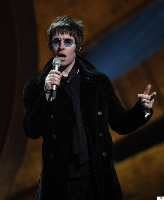 Liam Gallagher laments that the Brits aren't what they used to be ...