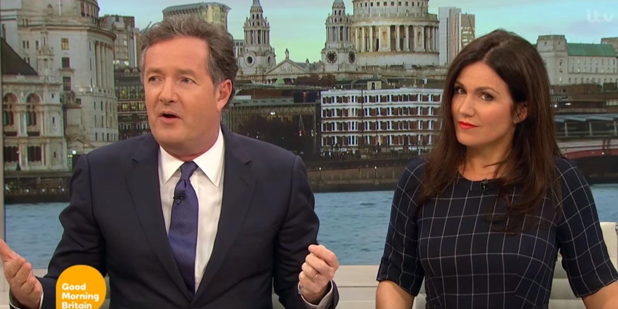 Piers Morgan Blasts Good Morning Britain For Freezing