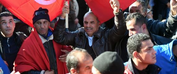 TUNISIAN POLICE PROTEST