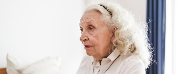 OLDER WOMAN DEPRESSED