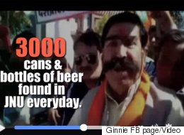 BJP Lawmaker Got His 3,000 Condoms Beer Bottles Info At JNU  Info From WhatsApp!