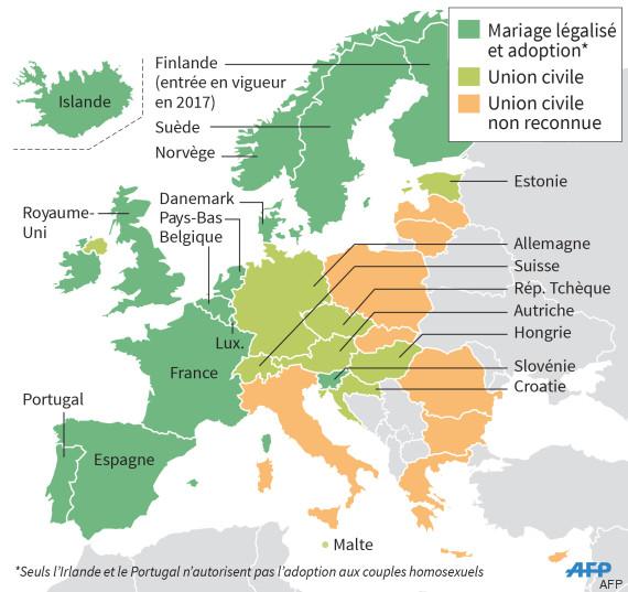italie union gays