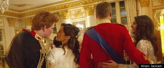 Pippa And Prince Harry Alison Jackson