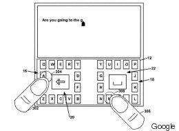 Le clavier pour téléphone imaginé par Google