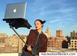 A MacBook Selfie Stick Is Everything That's Wrong With The World