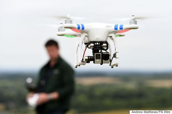 drone heathrow