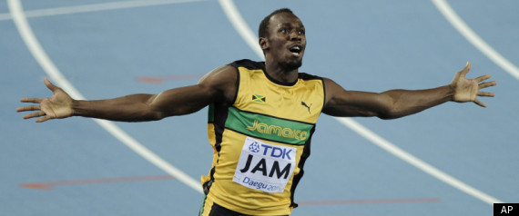 MICHAEL JOHNSON USAIN BOLT