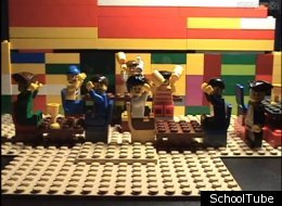 Quick History Lesson: The Boston Tea Party... Recreated With Legos (WATCH)