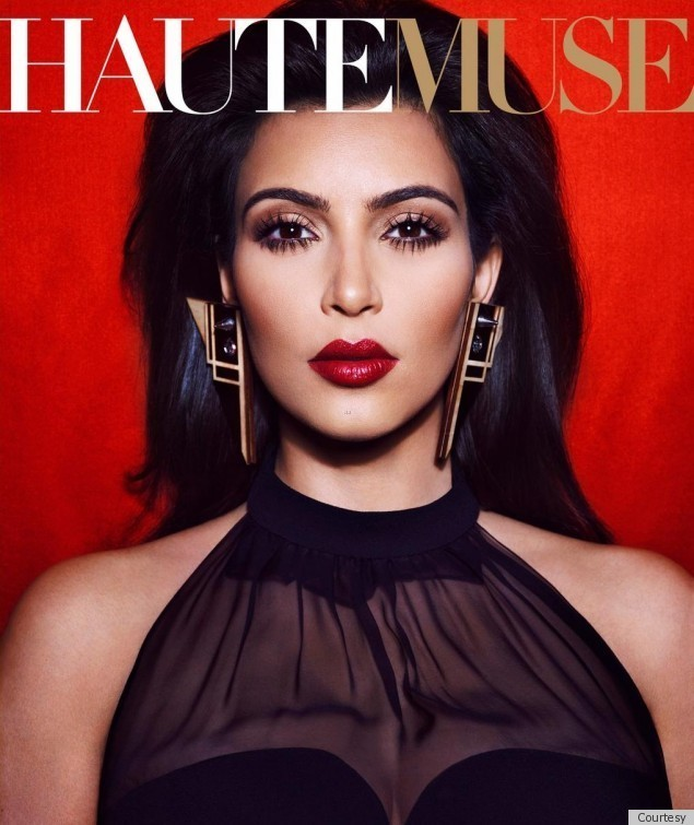 Kim Kardashian 39 Haute Muse 39 Cover Channels Frida Kahlo