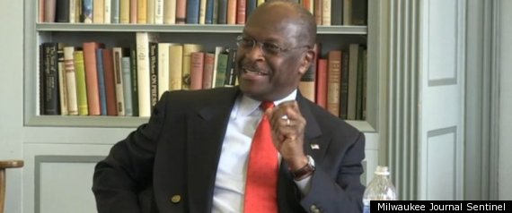 HERMAN CAIN JOURNAL SENTINEL INTERVIEW