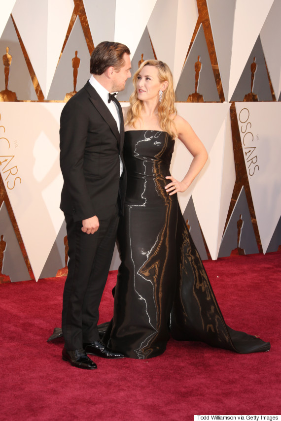 Oscars 2016 Kate Winslet Shimmered Like A Statuette At