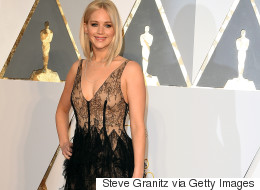 Jennifer Lawrence's Dior Oscars Gown Is Sheer Perfection