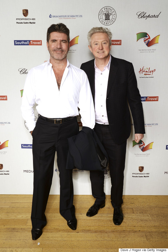 simon cowell louis walsh