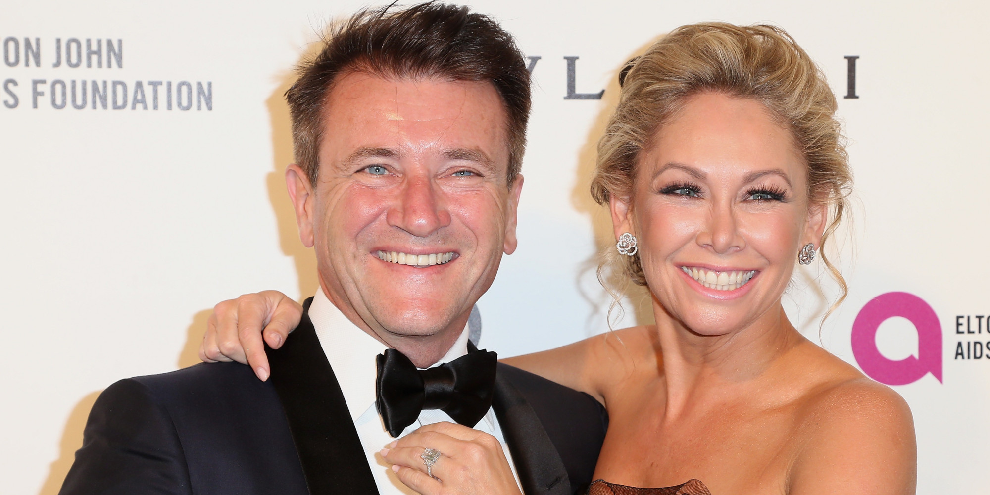 Robert Herjavec with Wife Kym Johnson