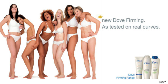 dove real beauty