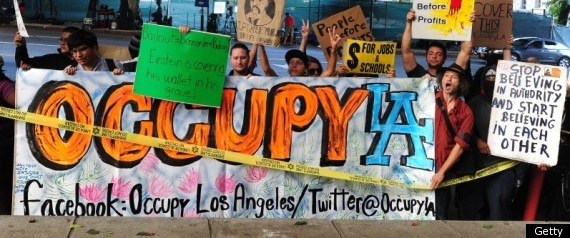 OCCUPY WALL STREET EVICTION OCCUPY LA