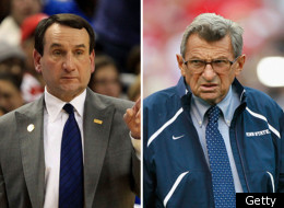 Coach K Joe Paterno