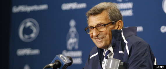JOE PATERNO PENSION