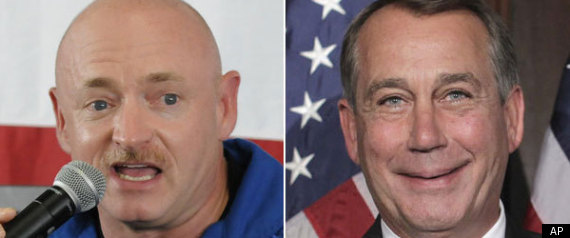 MARK KELLY GABRIELLE GIFFORDS JOHN BOEHNER