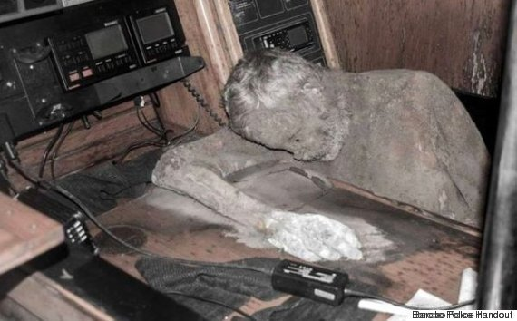 corpo mummificato