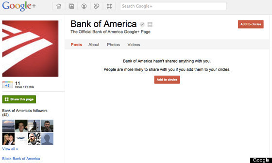 details about the bank of america