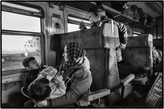 refugiadas niños
