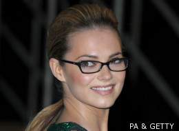 Kara Tointon Sizzles In Specs - But Where Are Everyone Else's Glasses?
