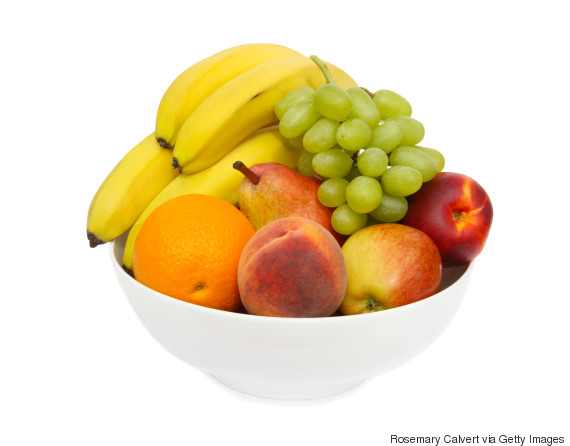 fruit bowl banana