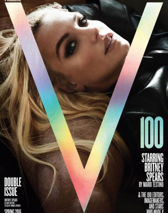 v magazine britney spears