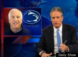 Jon Stewart Jerry Sandusky Interview