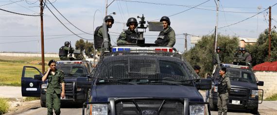 JORDANIAN SECURITY FORCES