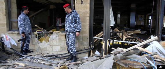 LEBANON HOTEL BOMB