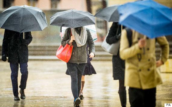 umbrella rain uk