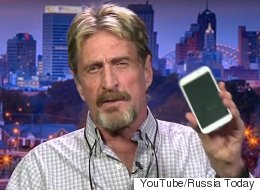 John McAfee Has Told The World How To Hack Your Phone Which Is Worrying