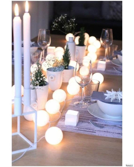 Decorare con le catene di luci per essere in festa tutto l 39 anno - Idee serata romantica a casa ...
