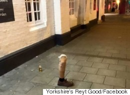 Legless Reveller Leaves Prosthetic Limb Outside Doncaster Pub